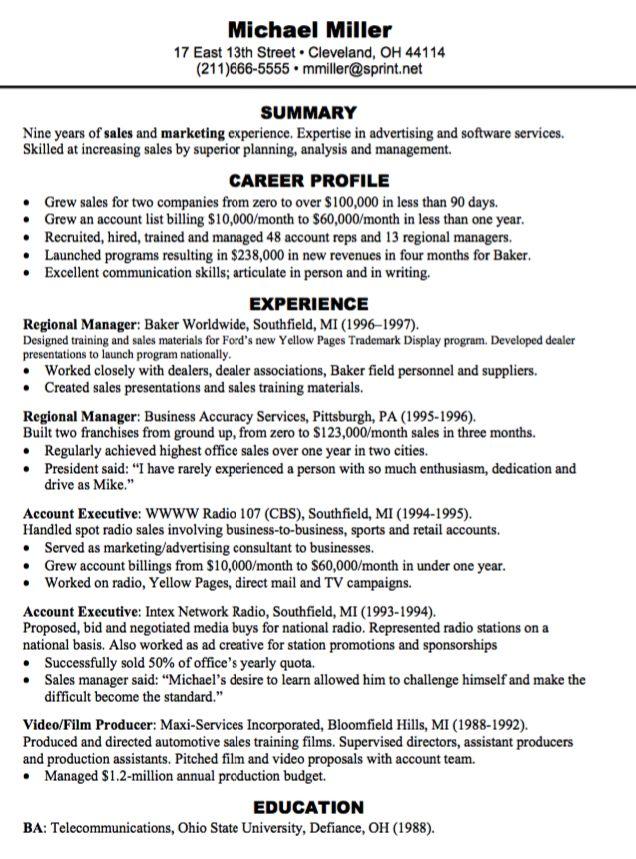 regional manager resume sample - http://exampleresumecv.org/regional-manager-resume-sample/