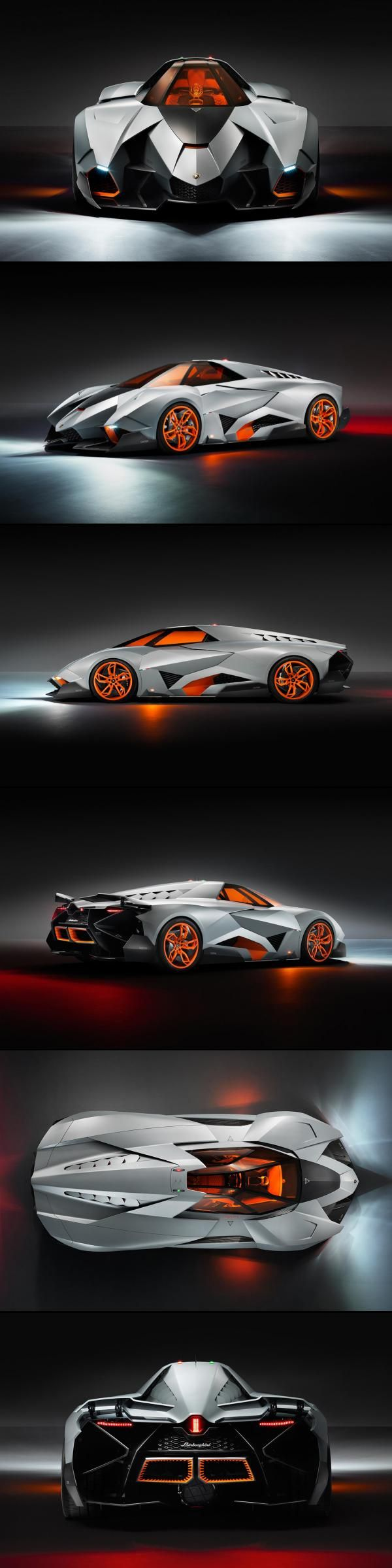 The Lamborghini Egoista aka the spaceship coupe. This looks likes it's about to go warp speed!