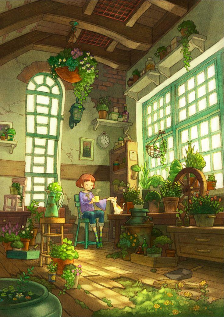Ilustraciones de Sayaka Ouhito