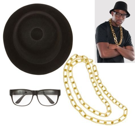 Old School Rapper Costume Kit - Party City