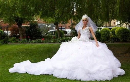 Thelma Madine Wedding Dresses Design  Mary: the Bride in My Big Fat Royal Gypsy
