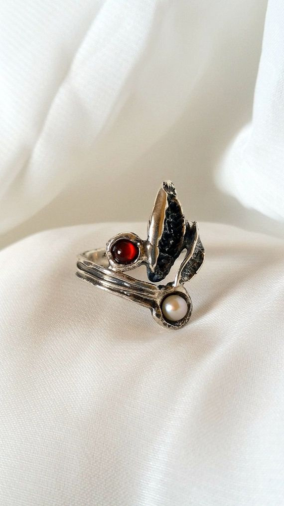 Hey, I found this really awesome Etsy listing at https://www.etsy.com/il-en/listing/454852420/organic-ring-handmade-ring-silver-ring