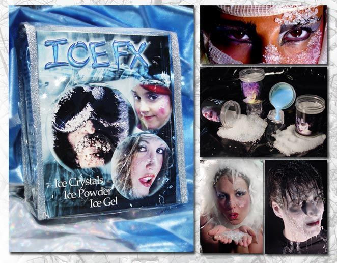 Ice FX Frost and Snow Makeup Pro Kit