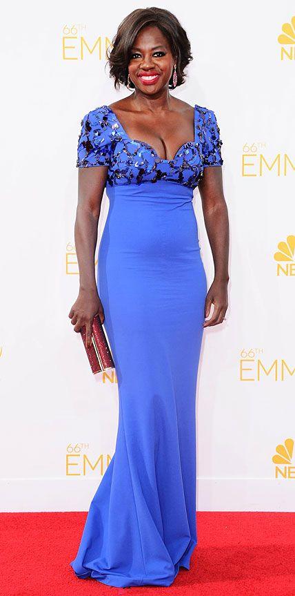 Viola Davis' Best Looks Ever - In Escada, 2014 from #InStyle
