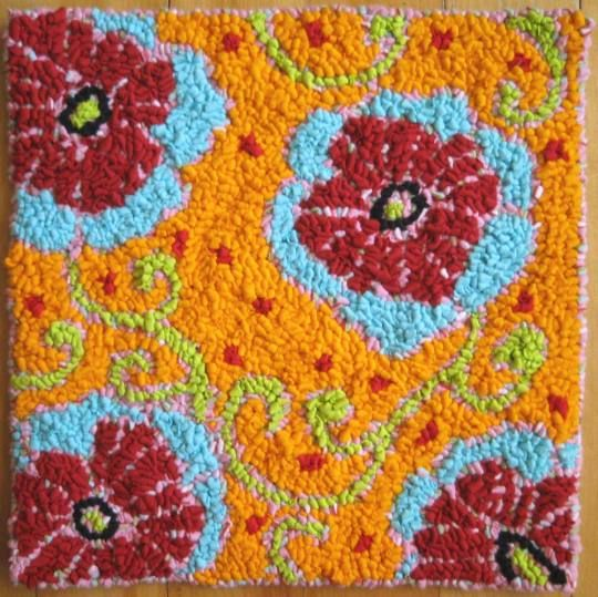 Rag Rug Cushion Kits: 2296 Best Images About Rug Hooking On Pinterest