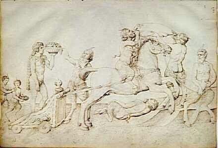 1450. Louvre. Carro di Bacco