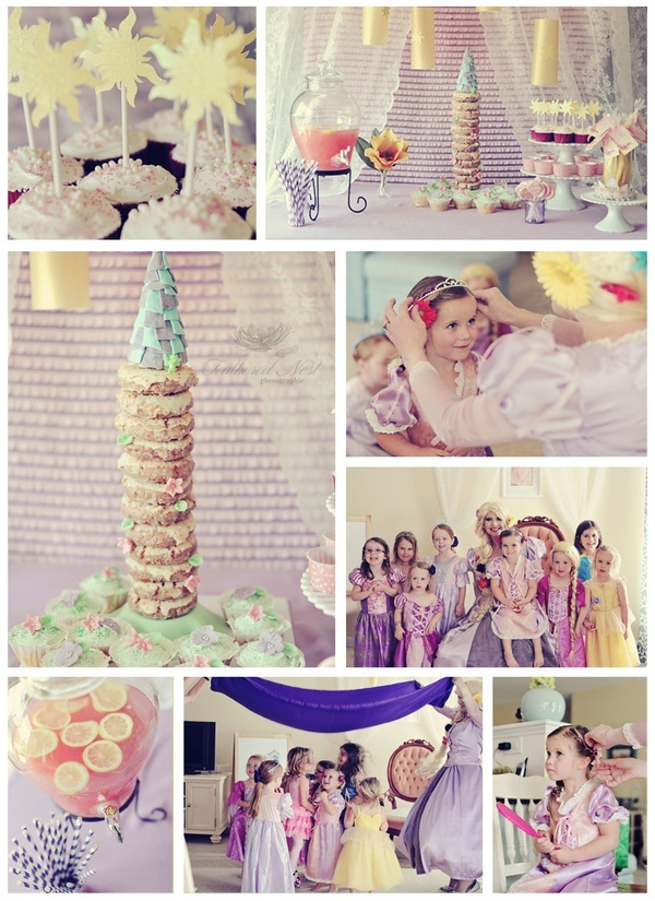 --Rapunzel tower cake