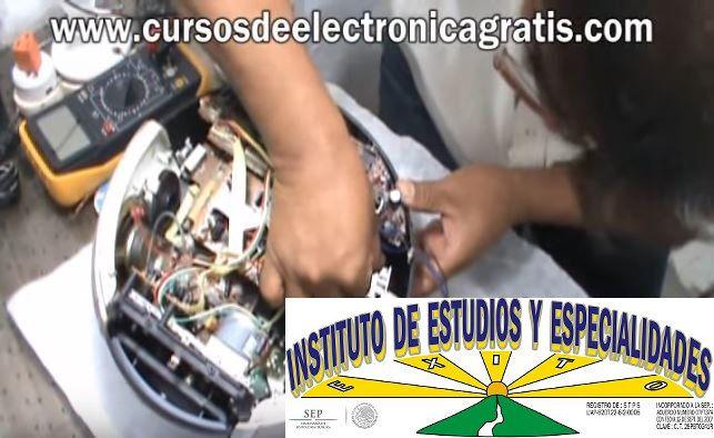 CURSOS DE ELECTRÓNICA GRATIS: REPARACIÓN DE RADIOGRABADORA PARTE 5
