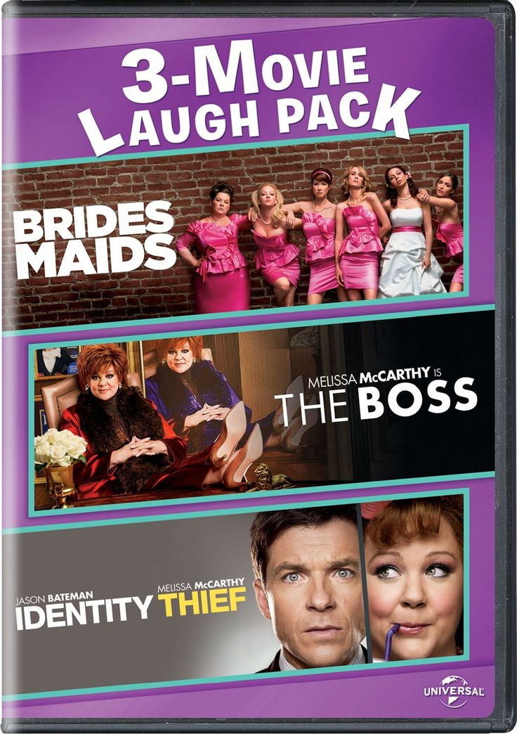 Bridesmaids/The Boss/Identity Thief 3-Movie Laugh Pack