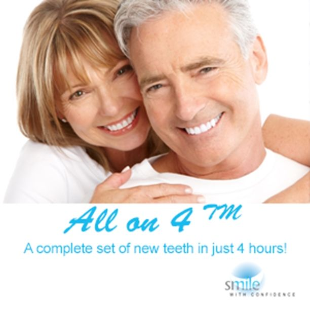 What is All on Four Dental Implants? #LondonSmileCare specialist centre for dental implants give you more information about this procedure