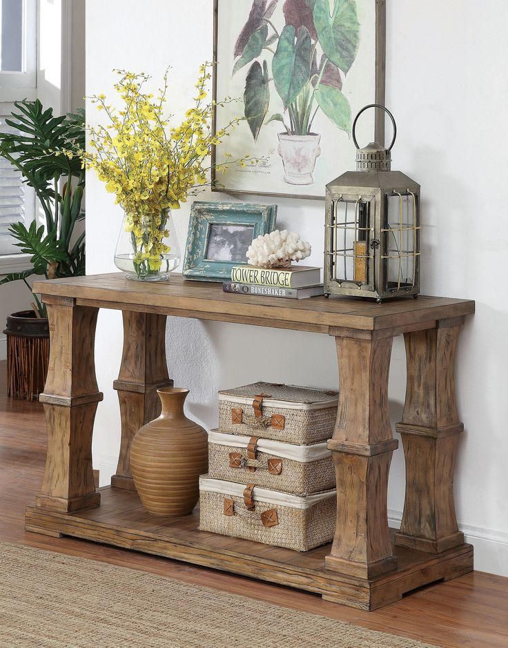 Rustic Foyer Jr : Best sofa tables ideas on pinterest diy table
