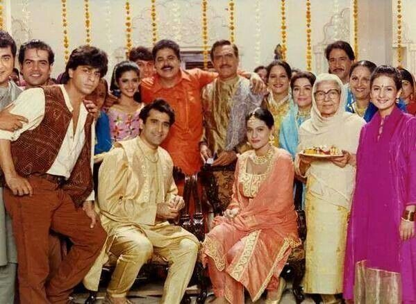 On the set of ddlj with entire cast