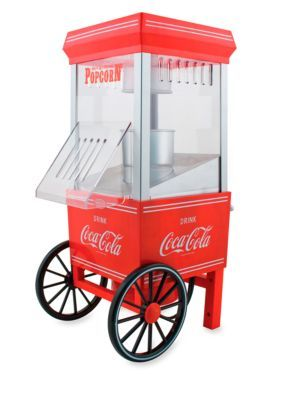 Nostalgia Electrics  Coca-Cola Series Hot Air Popcorn Maker OFP501COKE - Online Only
