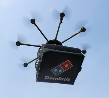 Drones Delivering Pizza?
