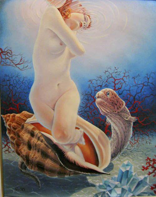 Lohmuller Gyuri #art #oil #canvas #paintings #sale #original #surreal #symbolic #symbolism #fantasy #conceptual #realism #surrealism #world #music #religion #sky #belief #phylosophy #mythology