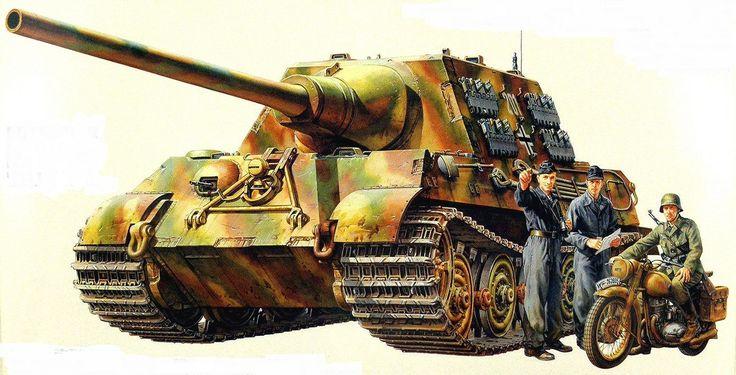 "Panzerjager ""Jagdtiger"" kommandant Otto Carius. - 512 Battalion"