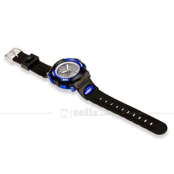 Blue Black Otage Multifunctional Sport Watch #otage #sport #watch #multifunctional