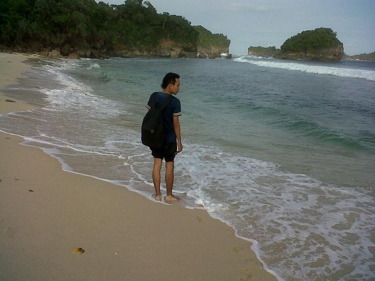 beautiful beach with white sand