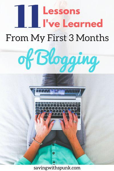 My First 3 Months Blogging