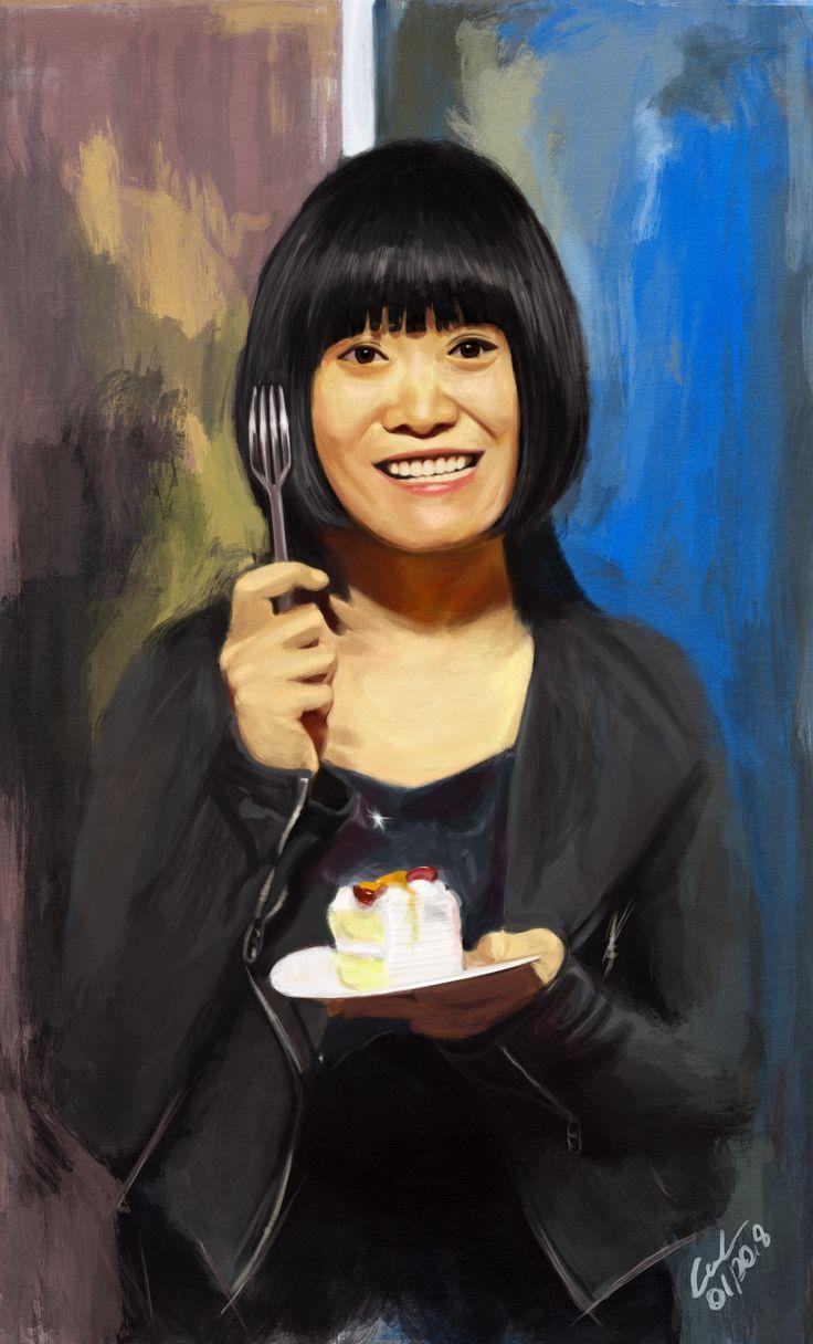 https://flic.kr/p/FHdXLL | Liu Chenyang for JKPP | Liu Chenyang for JKPP digital painting (ipadpro&procreate) 28.1.2018, Carsten, Berlin-Germany