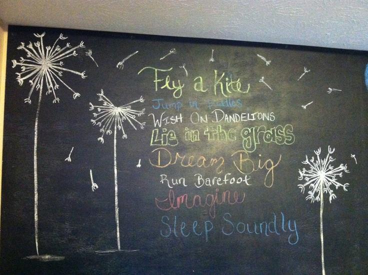 Spring chalkboard sayings