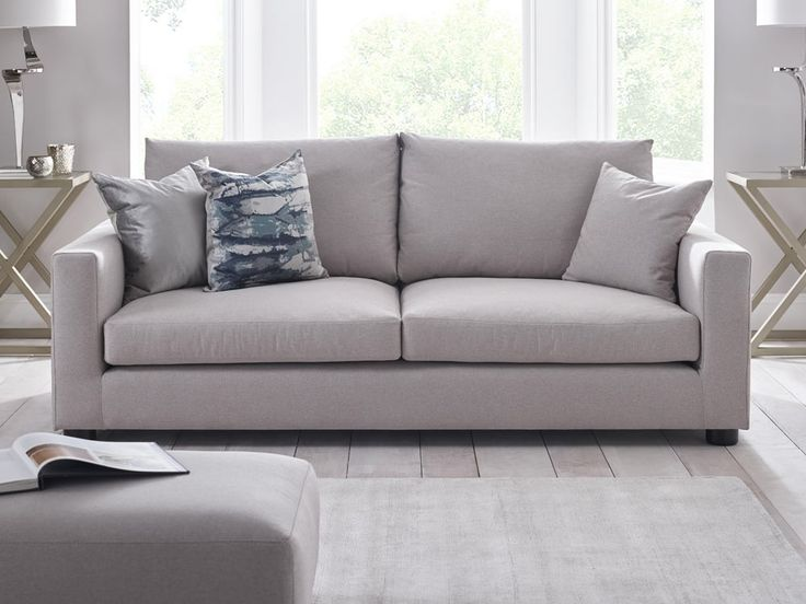 Frances Sofa - Our Frances sofa is the perfect family sofa, generous in this dimensions and with deep padded cushions this is the perfect sofa to unwind on - by www.livingitup.co.uk
