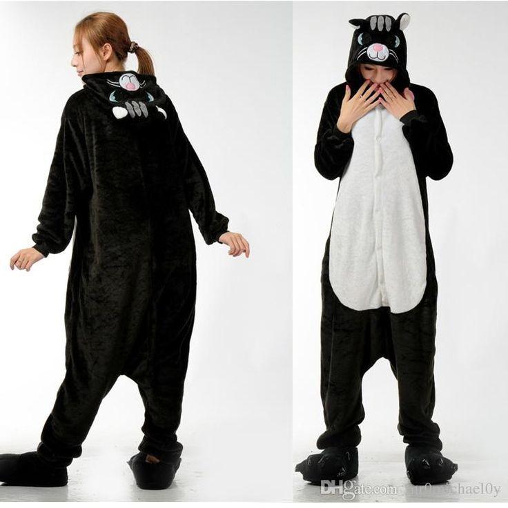 Großhandel Lovely Katze Tier Onesies Kigurumi Pyjamas Onesies Pyjamas Für Erwachsene One Piece Pyjamas Animal Onesies Kostüm Pyjamas Von Mr0michael0y, $26.53 Auf De.Dhgate.Com | Dhgate