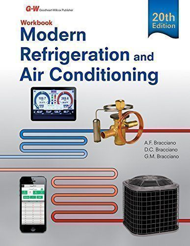 Modern Refrigeration and Air Conditioning Workbook #Modern #Refrigeration #Conditioning #Workbook