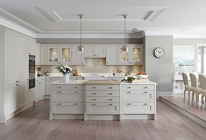 This Bespoke Kitchen Is Minimalist Whilst Having Traditional Feel