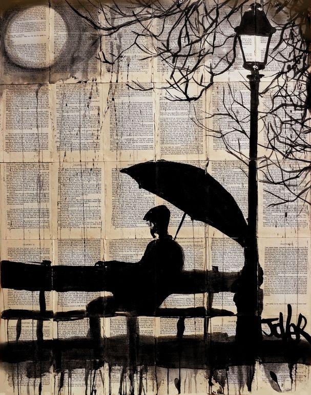 "Saatchi Online Artist: Loui Jover; Ink 2013 Drawing ""reminisce"""