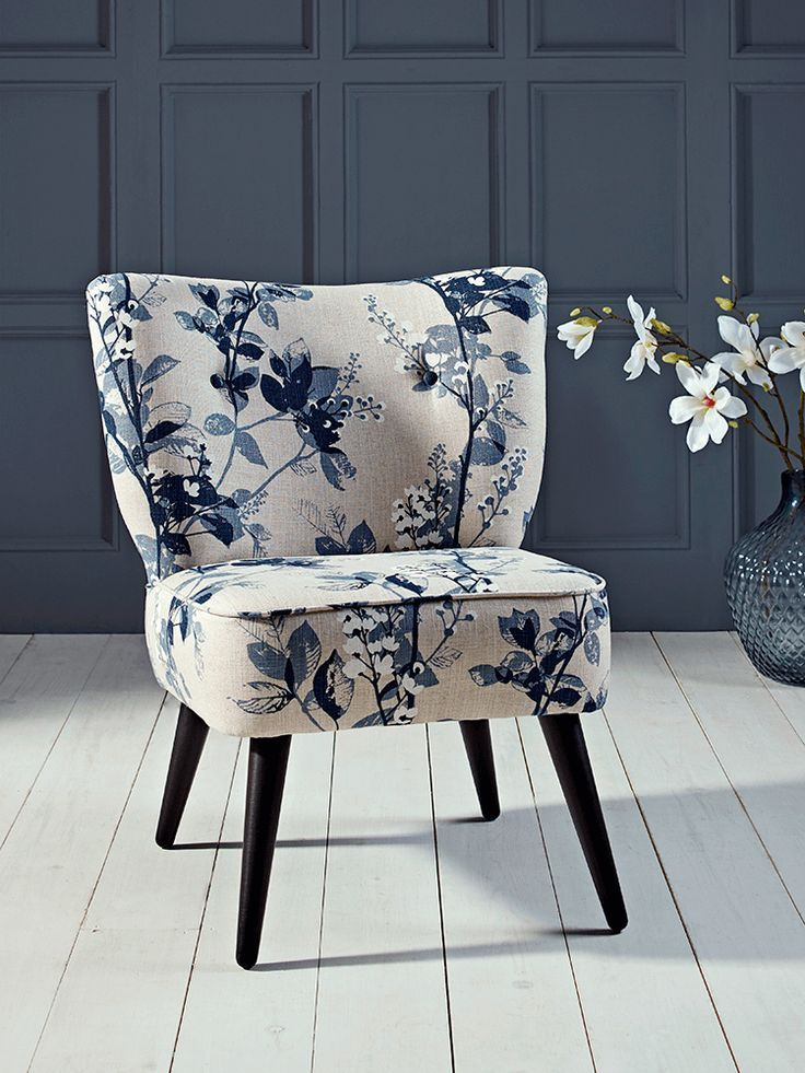 Navy And White Accent Chair Blue Accent Chairs White