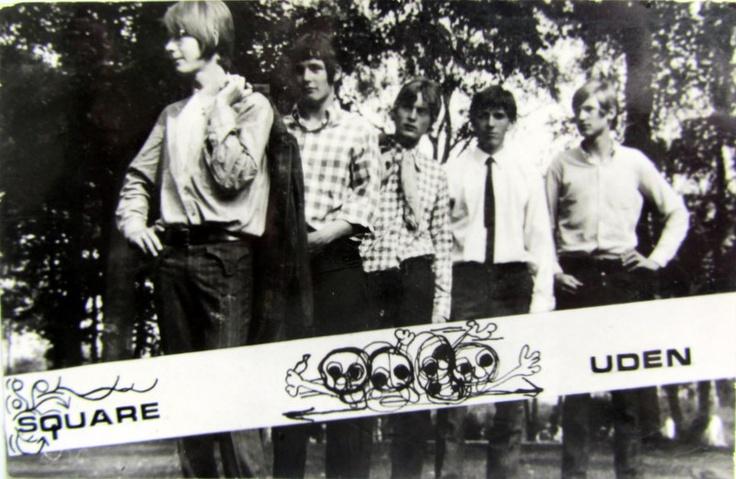 De 1ste promotiekaart van Square! 1966 of zoiets!
