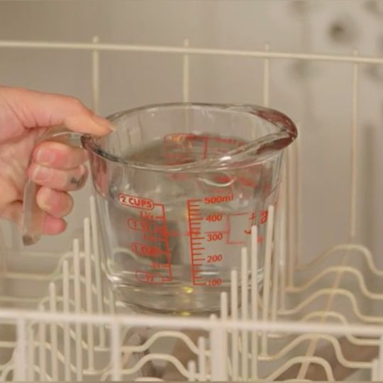 How do you wash that which is made to do the washing? With this dishwasher cleaning tip.