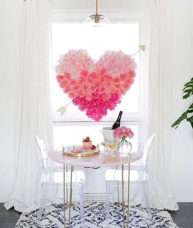 morgen ist es soweit valentinstag love valentinsday pink valentinstag pinterest. Black Bedroom Furniture Sets. Home Design Ideas