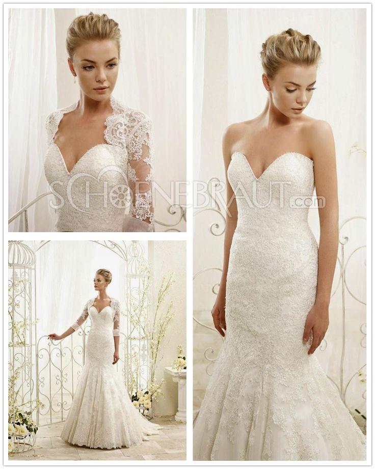 Hochzeitskleider Mit Spitze on Pinterest  Hochzeitskleid mit Spitze ...