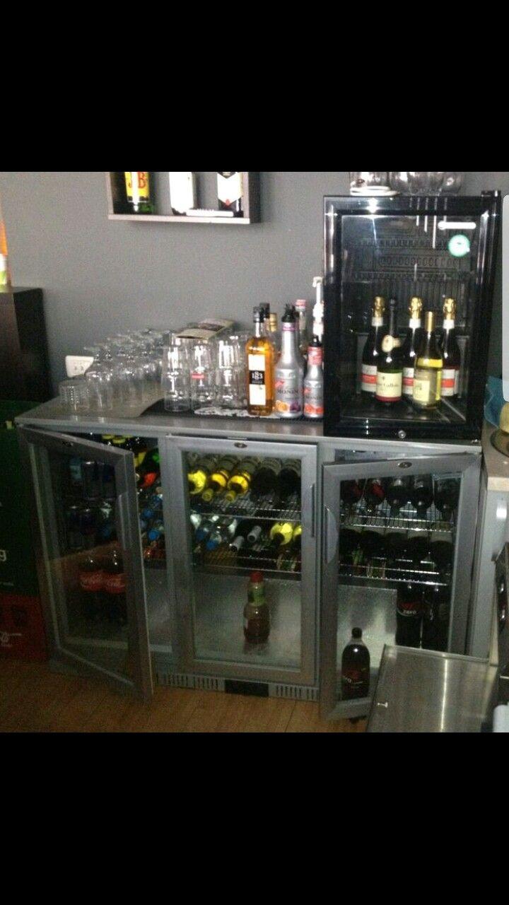 Vitrine frigorifice bar.