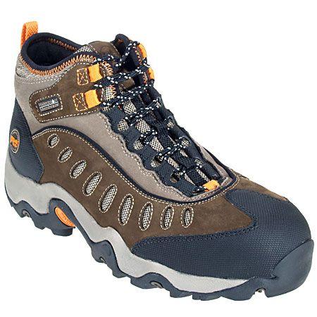 Timberland Pro Boots Men's 86515 Mudslinger EH Waterproof Steel Toe Bo