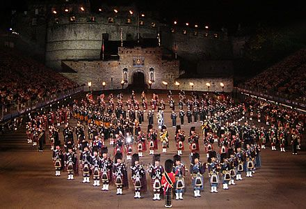 Edinburgh, Scotland to see annual military tattoo