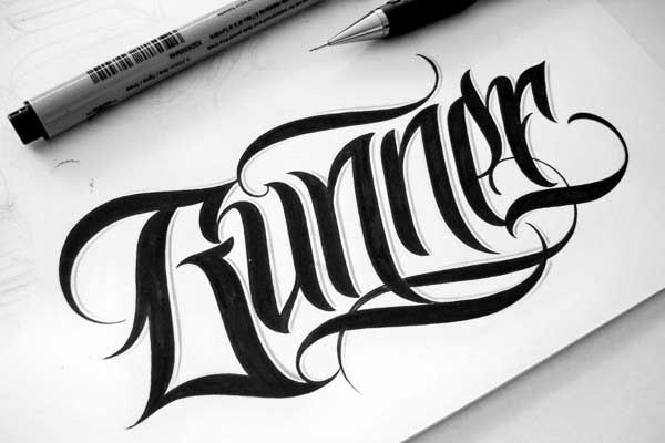 Typography by Mateusz Witczak. More on http://lookslikegooddesign.com/typography-by-mateusz-witczak/