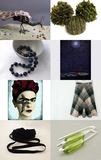 Dark Beauty by Carolyn on Etsy--Pinned with TreasuryPin.com