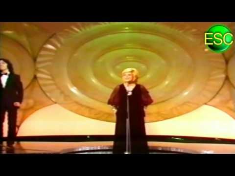 ESC 1971 Winner Reprise - Monaco - Séverine - Un Banc, Un Arbre, Une Rue