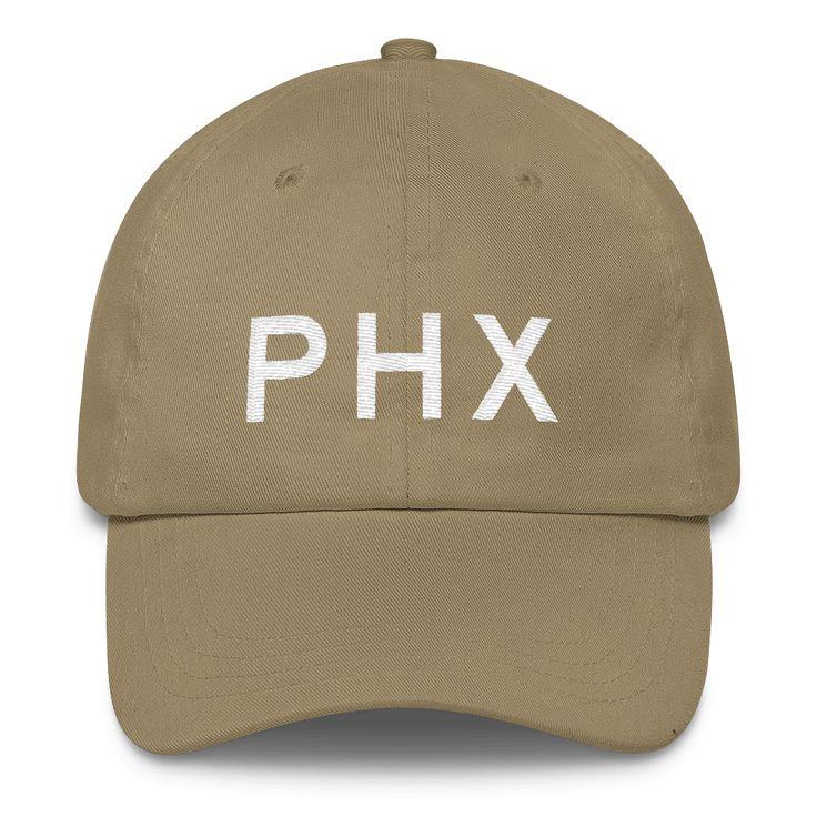 PHX Phoenix Airport Code Classic Dad Cap