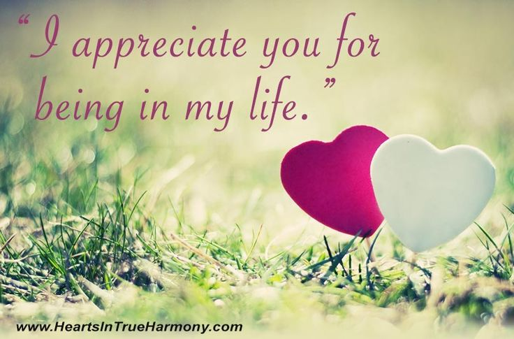 appreciating loved ones Appreciation quotes from brainyquote, an extensive collection of quotations by famous authors, celebrities, and newsmakers.