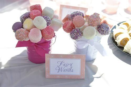 marshmallow pop flowers