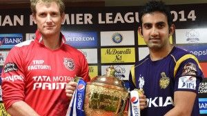 IPL 2014 Finals Live Cricket Match: Watch live IPL 2014 final match KKR Vs KXIP live from M Chinnaswamy Stadium, Bangalore at 08:00 PM IST 1st June 2014. IPL 2014 live cricket match played between Kolkata and Punjab will be telecast live on sports channels all over the world.