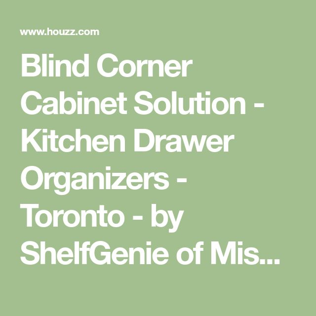 Best 25+ Corner Cabinet Solutions Ideas On Pinterest