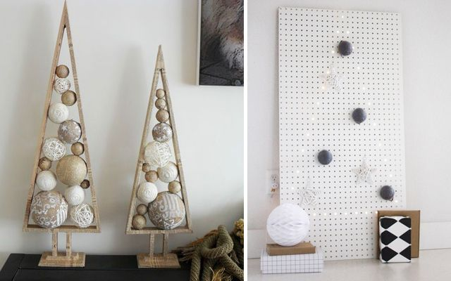 Ideas para decorar la Navidad - Árboles de navidad modernos