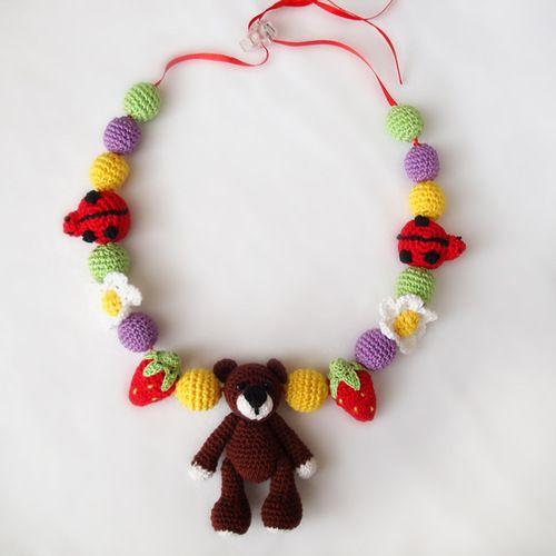 """Вязаные игрушки от Наталии Решетник: Слингобусы """"Лесные"""""""