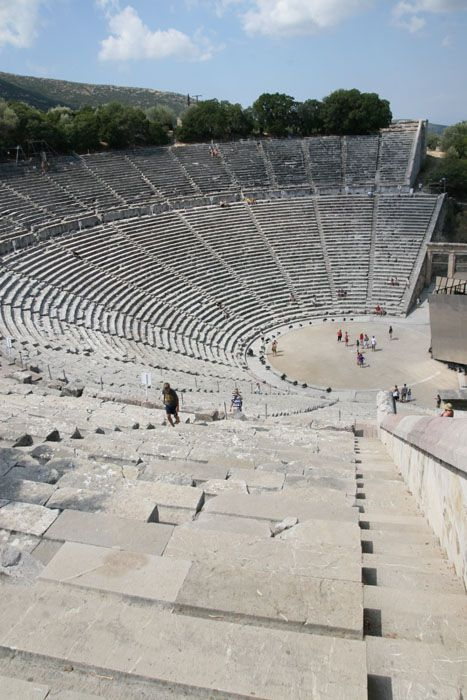 TRAVEL'IN GREECE I Théâtre d'Epidaure