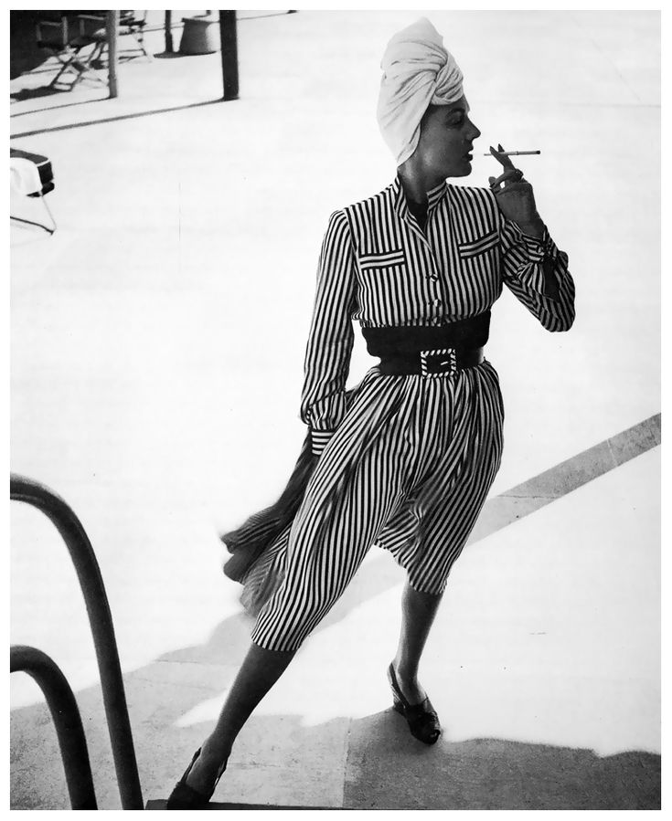 Suzy Brewster, photo by Louise Dahl-Wolfe, Miami, Florida, 1941